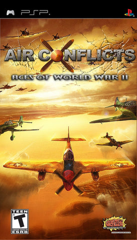 Air Conflict Aces of World War II - PSP