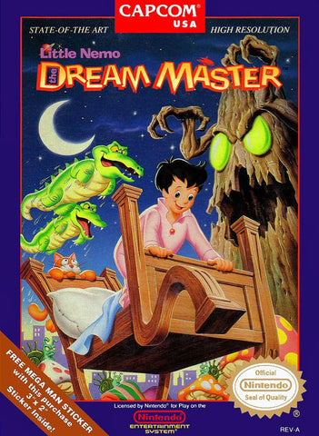 Little Nemo the Dream Master - NES
