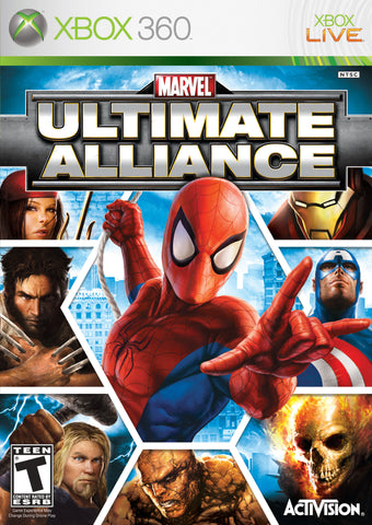 Marvel Ultimate Alliance - Pre-Owned Xbox 360