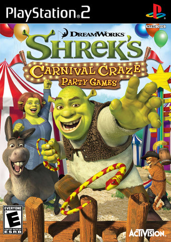 Shrek's Carnival Craze Party Games - Playstation 2