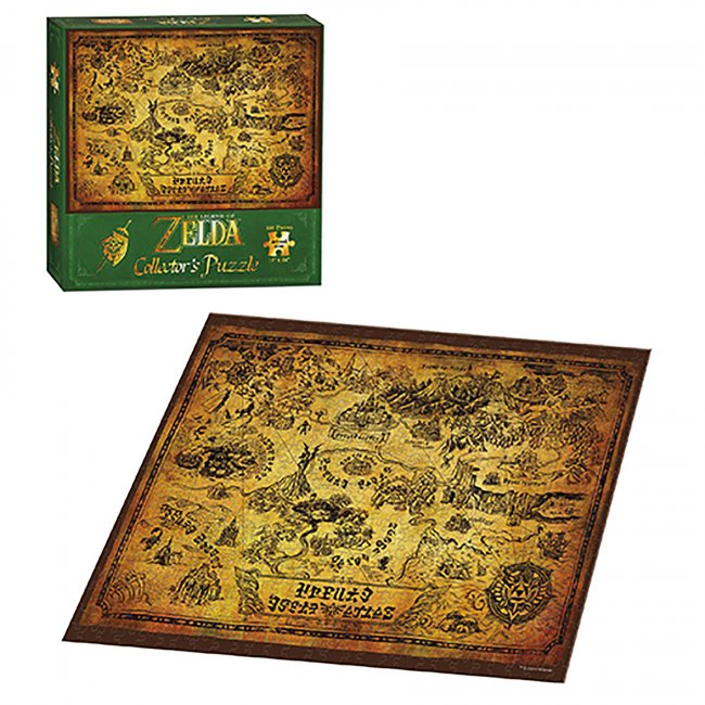 Legend of Zelda Puzzle: Collector's Map
