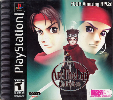 Arc the Lad Collection - Playstation