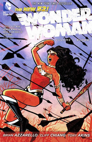 Wonder Woman Volume 1: The Blood