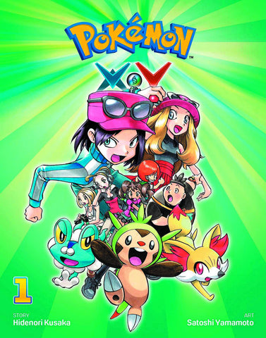 Pokemon XY Volume 1