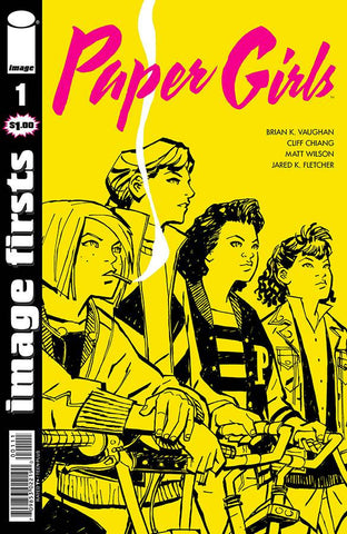 Image Firsts: Paper Girls #1
