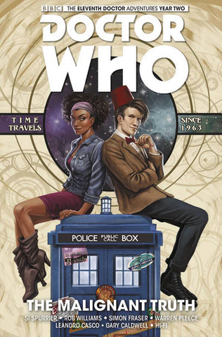 Doctor Who: 11th Doctor Volume 6: Malignant Truth HC