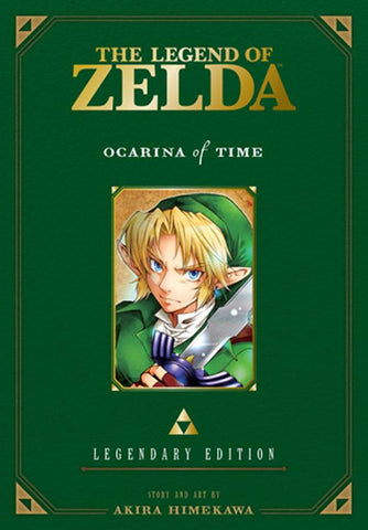 Legend of Zelda Legendary Edition Volume 1 Ocarina of Time