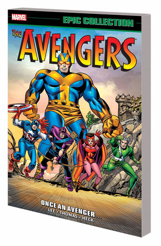 Avengers Epic Collection Volume 2: Once an Avenger