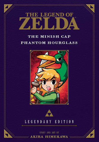 Legend of Zelda Legendary Edition Volume 4: Minish Cap and Phantom Hourglass