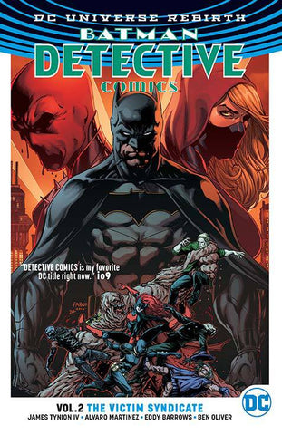 Detective Comics Volume 2: The Victim Syndicate (2017)