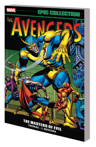Avengers Epic Collection Volume 3: Masters of Evil