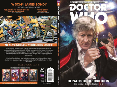 Doctor Who 3rd Doctor Volume 1: Heralds of Destruction
