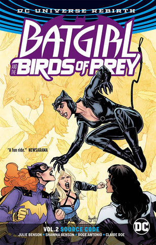 Batgirl and the Birds of Prey Volume 2: Source Code