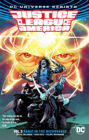 Justice League of America Volume 3: Panic in the Microverse