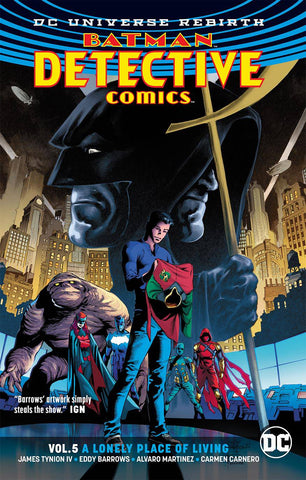 Detective Comics Volume 5: A Lonely Place of Living