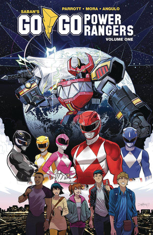 Go Go Power Rangers Volume 1