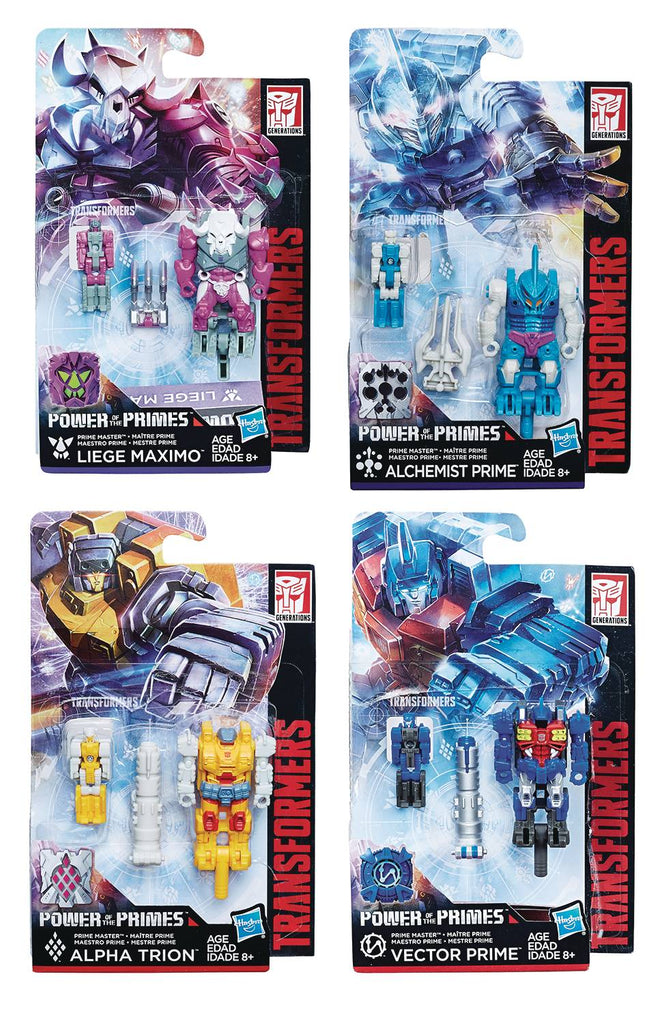 transformers generations power of the primes master class level Transformers Primus transformers generations power of the primes master class