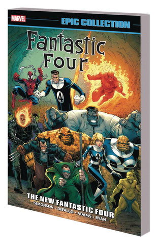 Fantastic Four Epic Collection Volume 21: New Fantastic Four