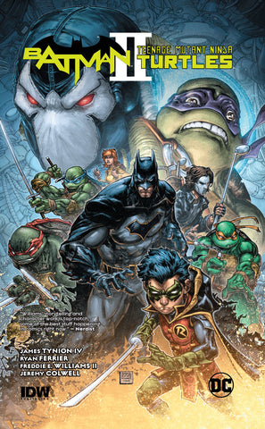 Batman/Teenage Mutant Ninja Turtles Volume 2 HC