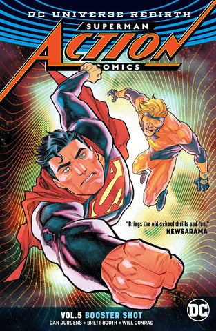 Action Comics Volume 5: Booster Shot