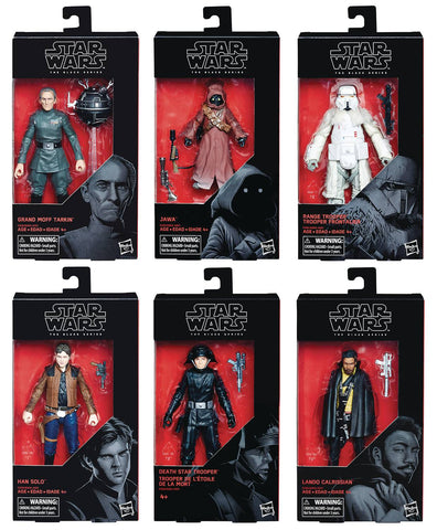 Star Wars Black Series 6-Inch Figures: Series 201802