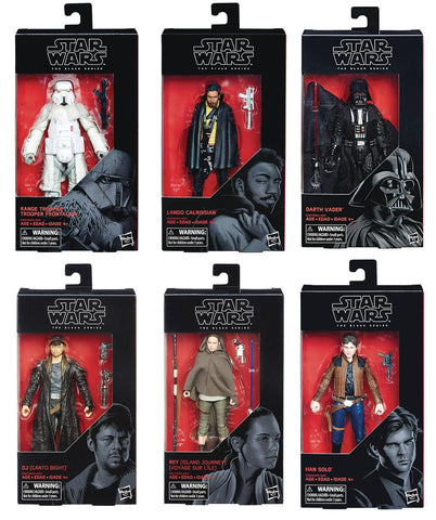 Star Wars Black Series 6-Inch Figures: Series 201803