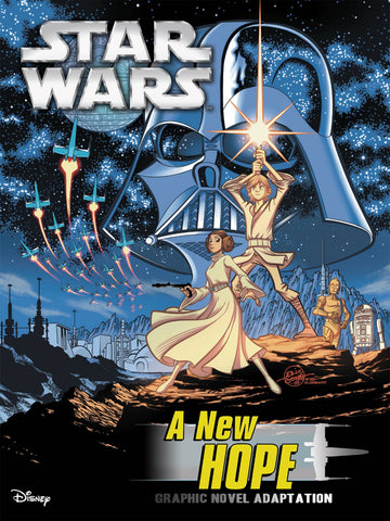 Star Wars: A New Hope Graphic Novel Adaptation