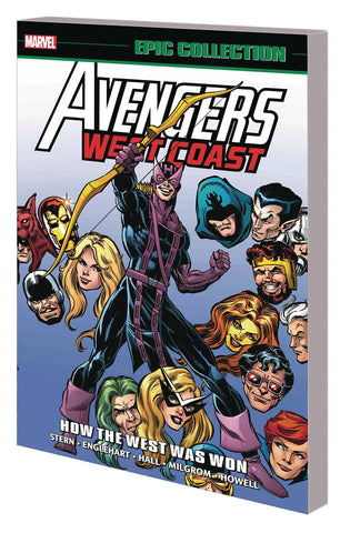 Avengers West Coast Epic Collection Volume 1: How the West Was Won