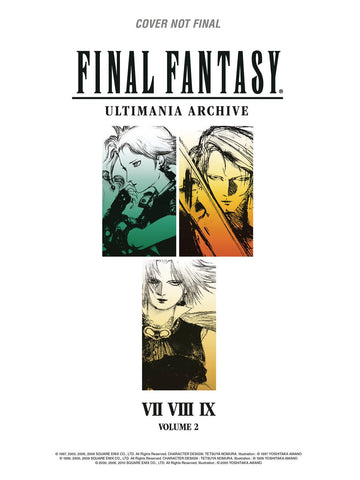 Final Fantasy Ultimania Archives Volume 2