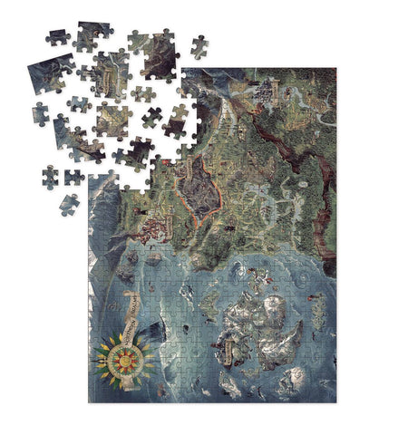 Witcher 3 Puzzle: World Map