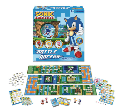 Sonic the Hedgehog: Battle Racers Boardgame