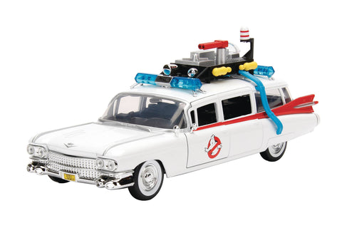 Metals 1/24 Scale Vehicle: Ghostbusters Ecto-1