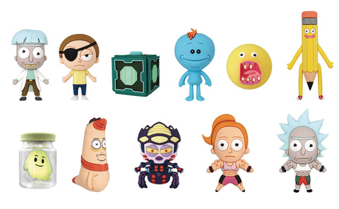Rick and Morty Figural Keyrings: Series 2