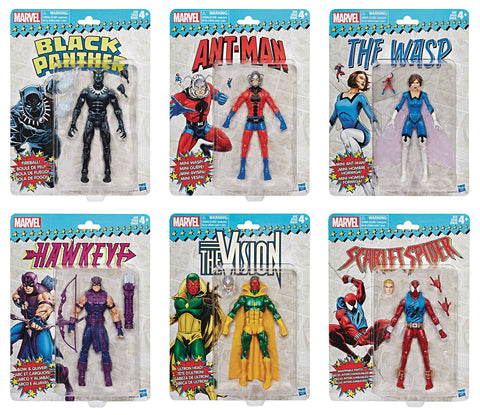 Marvel Super Heroes Vintage Action Figures Wave 2