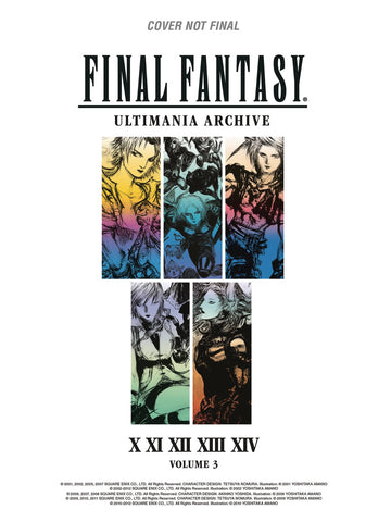 Final Fantasy Ultimania Archives Volume 3
