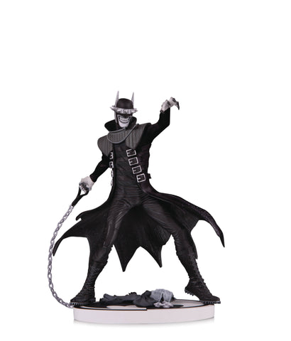 Batman Black and White Statue: Batman Who Laughs Second Edition
