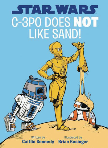 Star Wars: C-3PO Does Not Like Sand