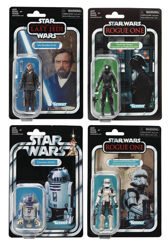 Star Wars Vintage 3-3/4 Inch Figures Assortment 201903