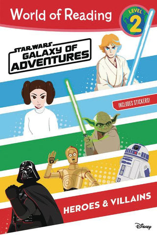 World of reading: Star Wars - Galaxy of Adventures