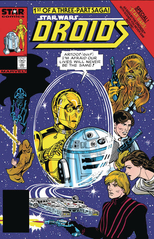 True Believers: Star Wars - According to the Droids #1