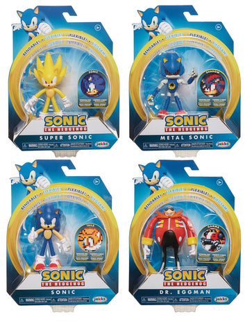 Sonic the Hedgehog 4-Inch Figures Wave 2