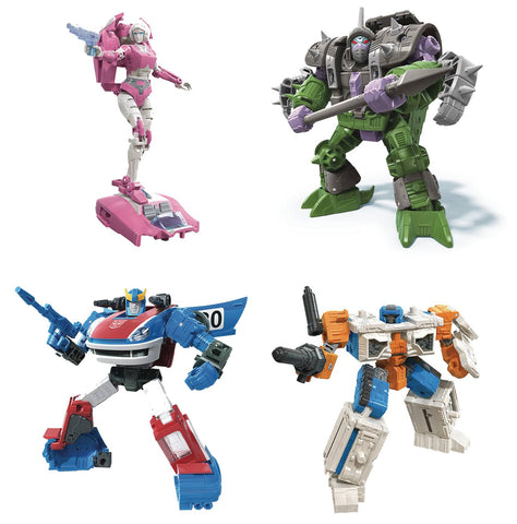 Transformers Generations - War for Cybertron Earthrise Deluxe Figures