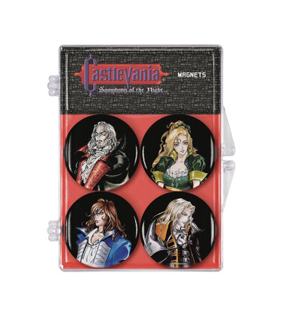 Castlevania: Symphony of the Night 4-Pack Magnet Set