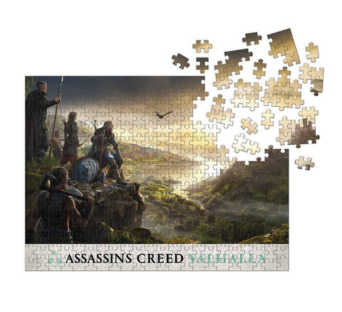 Assassin's Creed: Valhalla Raid Planning Puzzle