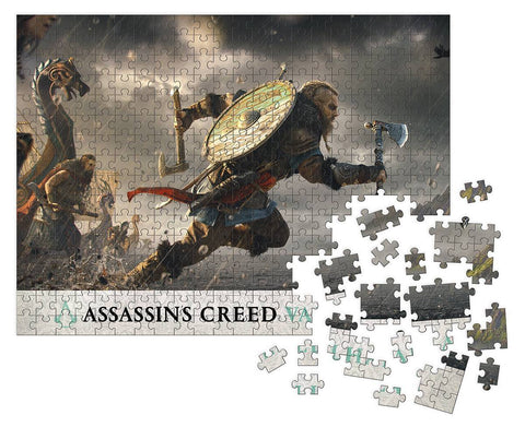 Assassin's Creed: Valhalla Fortress Assault Puzzle