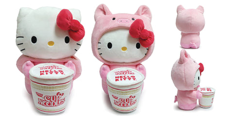 Hello Kitty X Nissin Cup Noddle Plush: Pork