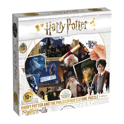Harry Potter and the Philosopher's Stone 500pc Puzzle