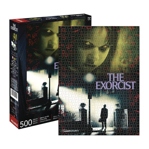 Aquarius Puzzle: Exorcist Collage 500 Pieces