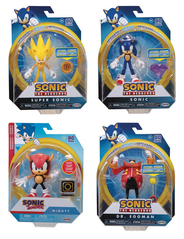 Sonic the Hedgehog 4-Inch Articulated Figures Wave 3