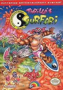 T & C 2 Thrilla's Surfari - NES
